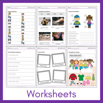 Let's Go 6 - Unit 1 Worksheets (+170 Pages!)