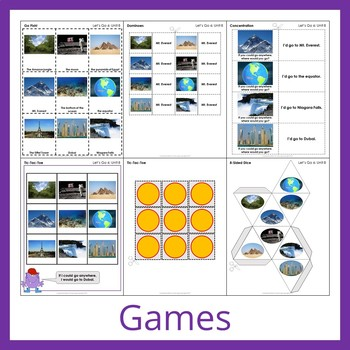 Let's Go 6 - Unit 8 Worksheets (+140 Pages!)
