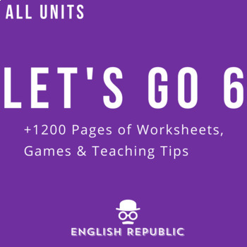 Let's Go 6 Worksheet Bundle - Save 25% (+1200 Pages!)