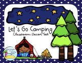 Let's Go Camping Classroom Decor Set