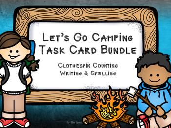 Let's Go Camping: Task Card Bundle