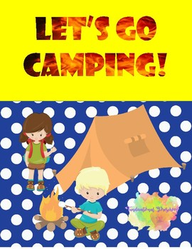 Let's Go Camping Tracing Sheets and Art Projects