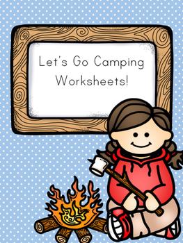 Let's Go Camping! Worksheets