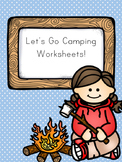 Let's Go Camping! Worksheets