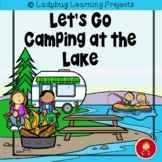 Let's Go Camping at the Lake Emergent Reader Set