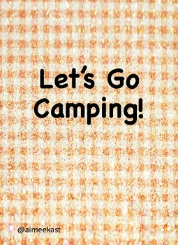 Let's Go Camping! unit