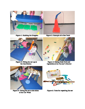 Let's Go Cruising activity for PE using Gymnastic Mats and