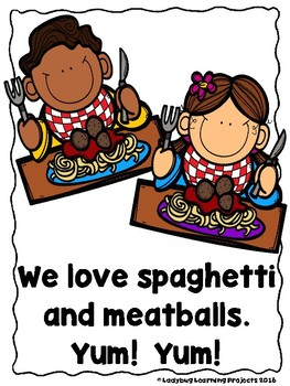 Let's Go Eat!  (A Sight Word Emergent Reader and Teacher Lap Book)
