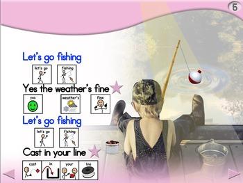 Let's Go Fishing - Animated Step-by-Step Poem - SymbolStix