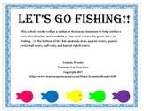 Let's Go Fishing!  Note recognition game