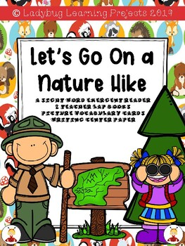 Let's Go On a Nature Hike  {Ladybug Learning Projects}  Emergent Readers