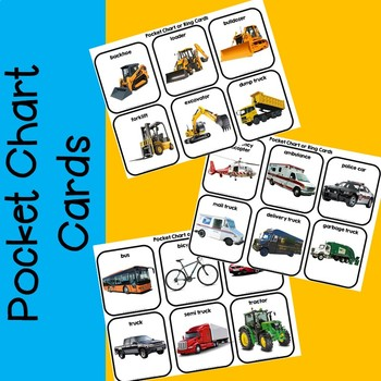Let's Go Places-- Vehicles Transportation Adapted Book Unit with Real Images