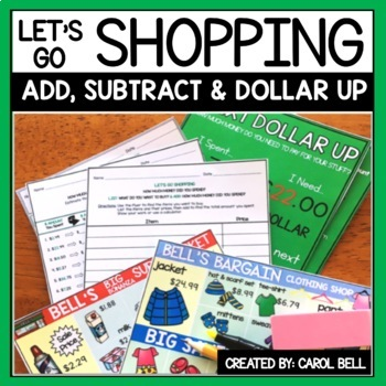 Shopping Worksheets