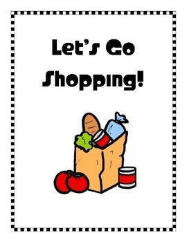 Let's Go Shopping! Estimation Activity