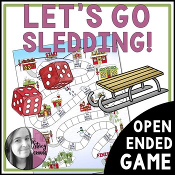 Let's Go Sledding! Open-Ended Game