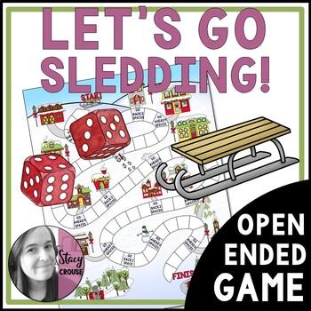 Let's Go Sledding! Open-Ended Game