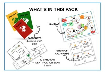 Let's Go for Hajj Play Pack