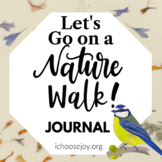 Let's Go on a Nature Walk Journal