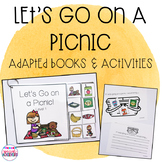 Let's Go on a Picnic Adapted Book and Activities