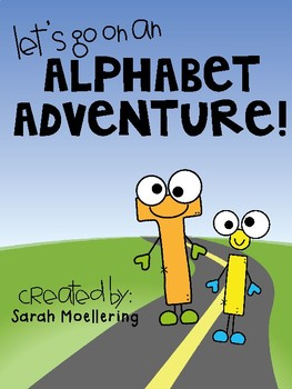 Let's Go on an Alphabet Adventure! (ABC activities galore!!)