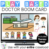Doctor Themed Play Based BOOM Card for Preschool Speech Therapy