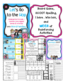 Let's Go to the Hop!! (cvc word families)