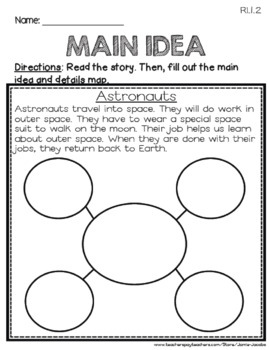 Let's Go to the Moon: First Grade - Journeys Supplemental Resources #16