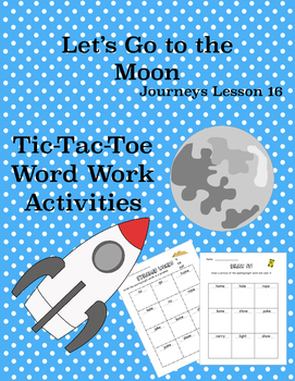 Let's Go to the Moon Journey's Lesson 16