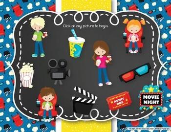 Let's Go to the Movies! Interactive Rhythm Practice Game - Tika-ti/Tiri-ti