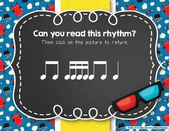 Let's Go to the Movies! Interactive Rhythm Practice Game - Tika-tika/Tiri-tiri