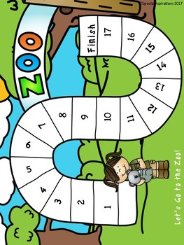 Let's Go to the Zoo! (an oo reading game) Orton-Gillingham