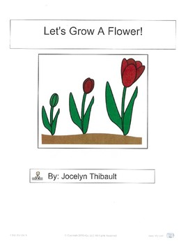Let's Grow A Flower- Adaptive Book