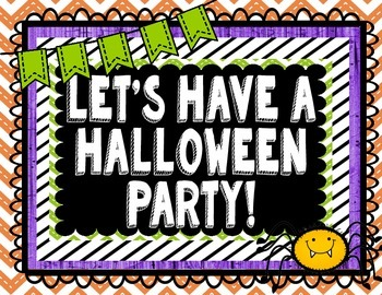 Let's Have a Halloween Party