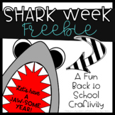 Let's Have a Jawsome Year! Shark Week Freebie