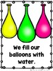 Let's Have a Water Balloon Fight  (Emergent Reader and Teacher Lap Book)