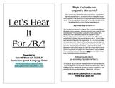 Let's Hear It For R! ~ Main Program Outline