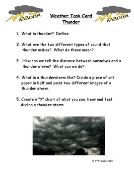 Let's Investigate: The Weather