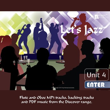 Let's Jazz Flute And Oboe MP3 And PDF Unit 4.