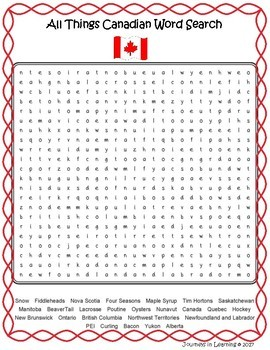 Let's Learn About Canada!