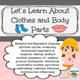 Let's Learn About Clothing and Body Parts: Language Therap