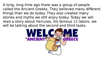 Let's Learn About Greek Myths - Heracles/Hercules Part 2