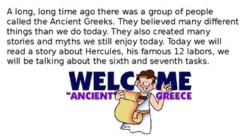 Let's Learn About Greek Myths - Heracles/Hercules Part 4