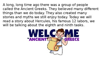 Let's Learn About Greek Myths - Heracles/Hercules Part 5