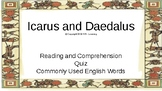 Let's Learn About Greek Myths- Icarus and Daedalus