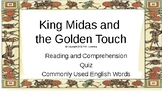 Let's Learn About Greek Myths- King Midas and the Golden Touch