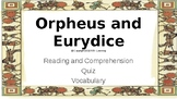 Let's Learn About Greek Myths - Orpheus and Eurydice