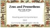 Let's Learn About Greek Myths - Zeus & Prometheus: Fire