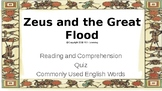 Let's Learn About Greek Myths - Zeus & the Great Flood