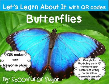 Let's Learn About It with QR Codes!  Butterflies