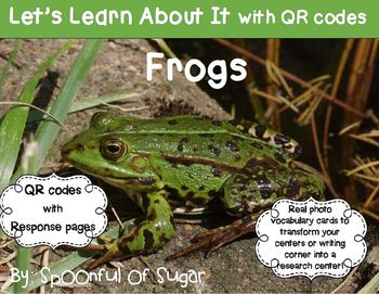 Let's Learn About It with QR Codes!  Frogs
